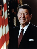 Official Portrait of President Reagan Taken on February 7 1981. Po-Usp-Reagan_Na-12-0060M