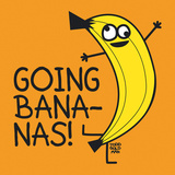 Going Bananas! Art Print