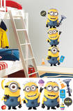 Despicable Me 2 Minions Giant Peel and Stick Giant Wall Decals