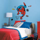 Marvel Classic Spiderman Peel and Stick Giant Wall Decals