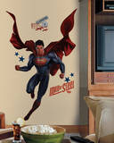 Superman Man of Steel Peel and Stick Giant Wall Decals