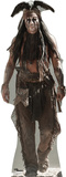 The Lone Ranger Disney Movie - Tonto (Johnny Depp) Lifesize Standup
