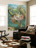 Buy Large Mouth Bass (Indoor/Outdoor) Vinyl Wall Mural at AllPosters.com
