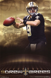 Drew Brees New Orleans Saints NFL Sports Poster