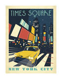 Times Square: New York City Art Print