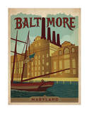 Baltimore, Maryland Art Print