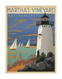 Martha's Vineyard, Massachusetts (Lighthouse) Art Print
