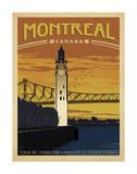 Montreal, Canada Art Print