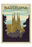 Barcelona, Spain Art Print