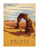 Arches National Park, Utah Art Print
