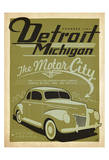 Detroit, Michigan: The Motor City Art Print