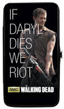 The Walking Dead - If Daryl Dies We Riot Hinged Wallet
