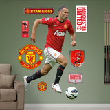 Manchester United Ryan Giggs Wall Decal Sticker