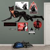 DC Comics Catwoman Arkham City Wall Decal Sticker
