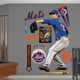 New York Mets Matt Harvey Wall Decal Sticker
