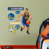 Golden State Warriors Stephen Curry Junior Wall Decal Sticker