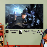 DC Comics Batman Arkham City Mural Decal Sticker