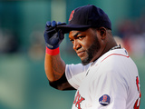 Boston, MA - April 25: David Ortiz
