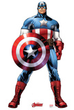 Captain America - Marvel Avengers Assemble Lifesize Standup Poster Stand Up