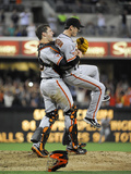 San Diego, CA - July 13: Tim Lincecum and Buster Posey