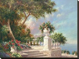 Buy Balcony at Lake Como at AllPosters.com