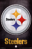 Pittsburgh Steelers Logo NFL Sports Poster