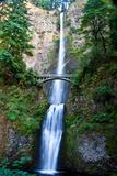 A Scenic View of Multnomah Falls