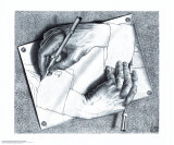 Buy Drawing Hands at AllPosters.com