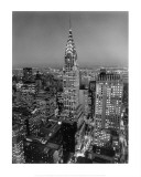 New York, New York, Chrysler Building Art Print