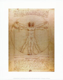 Buy Vitruvian Man, c.1492 at AllPosters.com