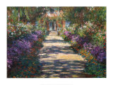 Buy Garden at Giverny at AllPosters.com