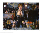 Bar at the Folies-Bergere, 1882 Art Print