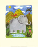 Nellie the Elephant Art Print