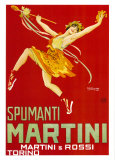 Martini and Rossi, Spumanti Martini Art Print