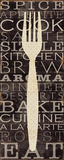 Kitchen Words I Art Print