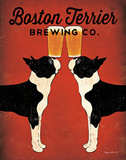 Boston Terrier Brewing Co. Art Print