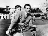 Audrey Hepburn, Gregory Peck.