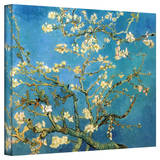 Buy Vincent van Gogh 'Blossoming Almond Tree' Wrapped Canvas at AllPosters.com