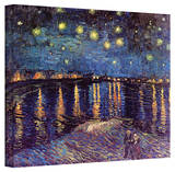 Vincent van Gogh 'Starry Night Over the Rhone' Canvas