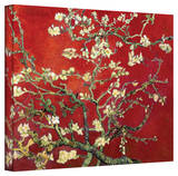Buy Vincent van Gogh 'Red Blossoming Almond Tree' Canvas at AllPosters.com