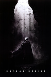 Batman Begins Christian Bale in Cave Movie Poster