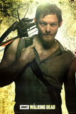 Daryl Dixon Walking Dead Television Poster
