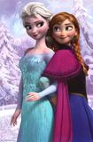 Frozen - Anna & Snow Queen Elsa Movie Poster Poster