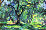 Buy Paul Cezanne In the Woods Poster at AllPosters.com