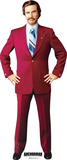 Anchorman - Ron Burgandy (Will Ferrell) Lifesize Standup Stand Up