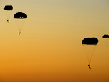 U.S. Army Rangers Parachute Over Florida