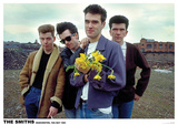 The Smiths Flowers Manchester 1983 Poster