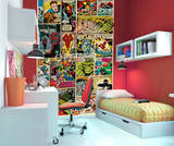 Marvel Comics Wallpaper Mural