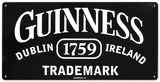 Guinness Trademark Tin Sign Tin Sign