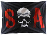 Sons of Anarchy - SOA Skull Banner